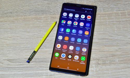 Galaxy Note9 chay tai My