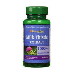 Milk Thistle 1000mg Puritan Pride
