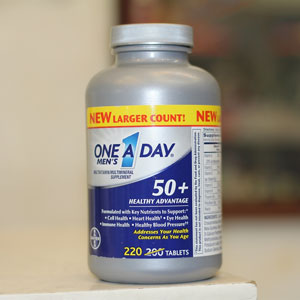 ONE A DAY Men's 50+ Advantage Vitamins - Hộp 220 viên