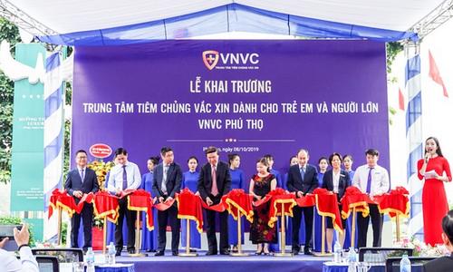 Hệ thống tiêm chủng VNVC khai trương trung tâm mới tại Việt Trì - Phú Thọ